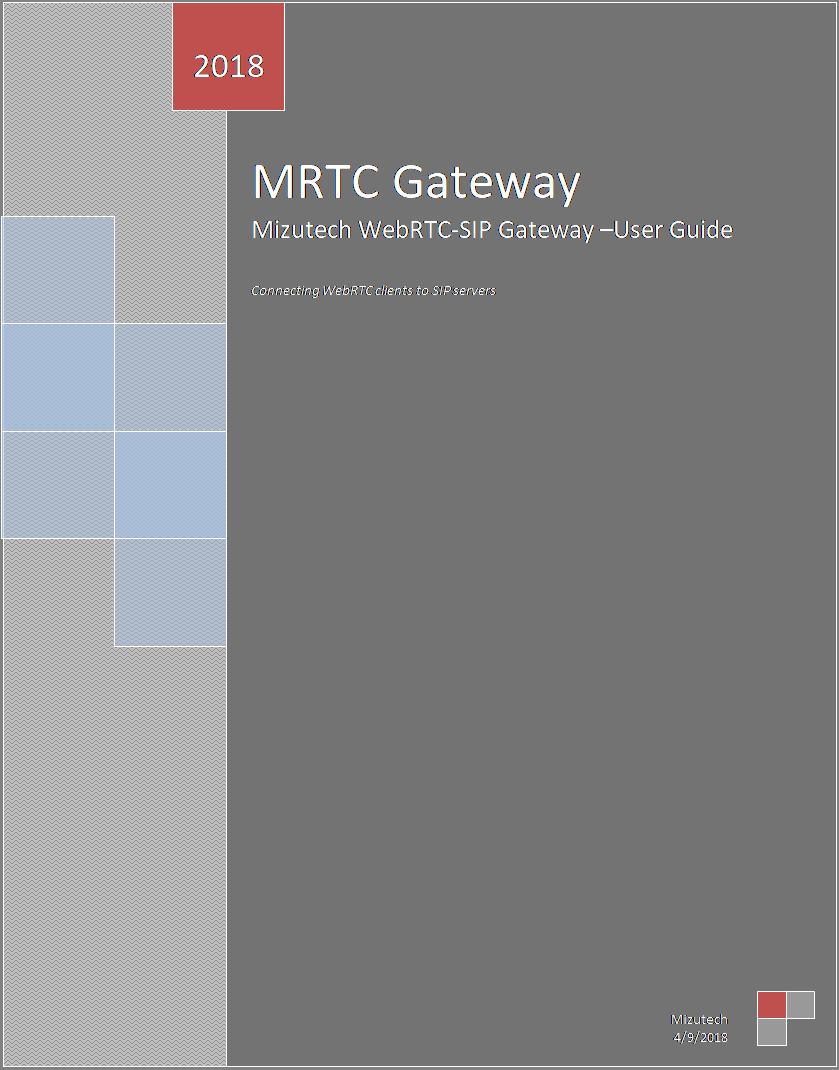 WebRTC-SIP Gateway