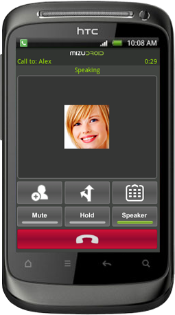 android softphone call